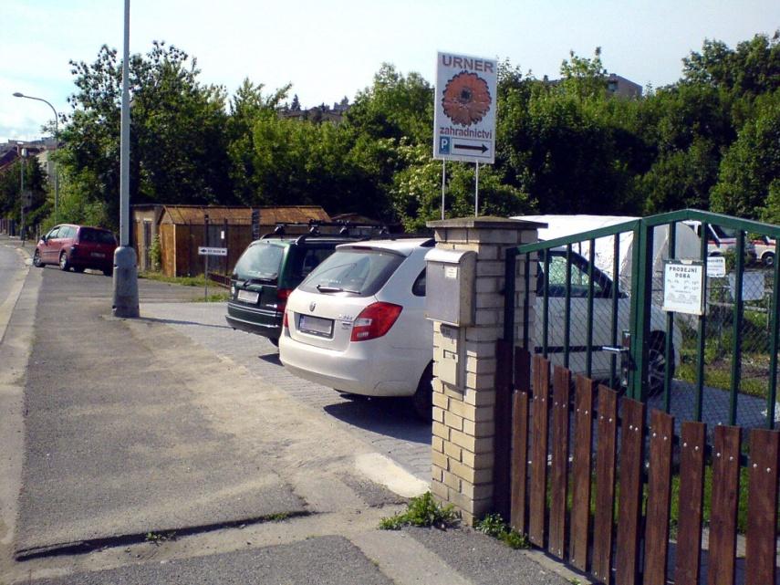 Parkoviště pro zákazníky